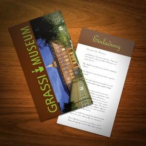 Einladungskarte Grassi Museum