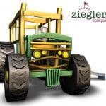 3D Traktor mit Kletterelementen