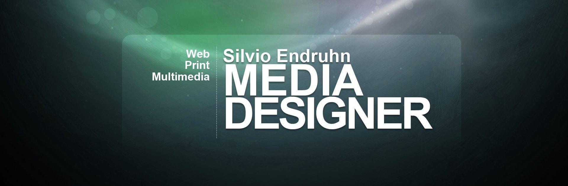 Mediadesigner Silvio Endruhn